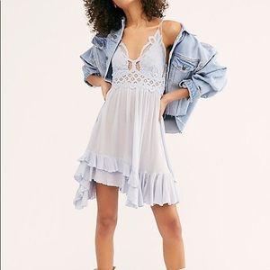 Free People Adella Mini Dress Small NWT